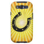Horseshoe; yellow galaxy s3 cover