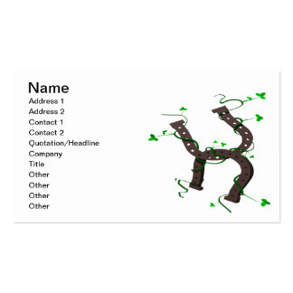 Horseshoes Business Card Templates