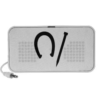 Horseshoes Game Travelling Speakers