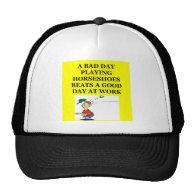 horseshoes hat