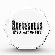 Horseshoes It's way of life Award