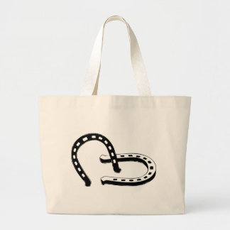 Horseshoes Jumbo Tote Bag