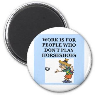 horseshoes refrigerator magnets