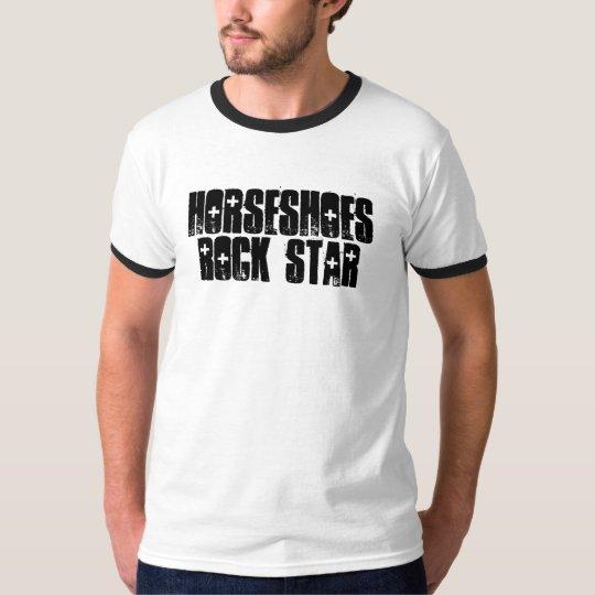 Horseshoes Rock Star T-Shirt