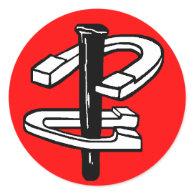 HorseShoes Sticker