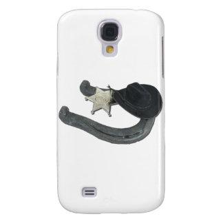 HorseshoeSheriffBadgeCowboyHat082611 Samsung Galaxy S4 Cases