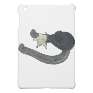 HorseshoeSheriffBadgeCowboyHat082611 iPad Mini Cover