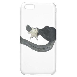 HorseshoeSheriffBadgeCowboyHat082611 iPhone 5C Cover