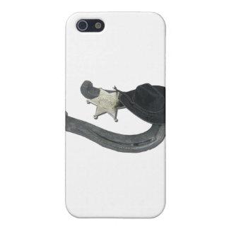 HorseshoeSheriffBadgeCowboyHat082611 Covers For iPhone 5