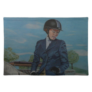 Horseshow Day American MoJo Placemat
