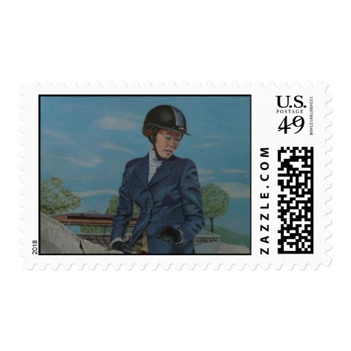 Horseshow Postage Stamps