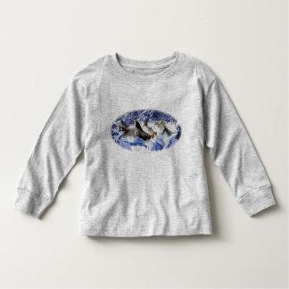 horseSnowHerd Toddler T-shirt