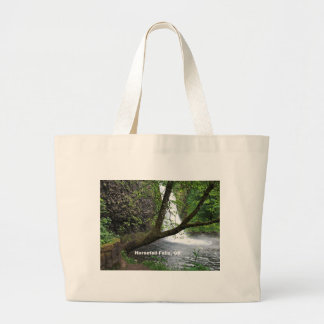 Horsetail Falls, Oregon, Columbia River Gorge Tote Bag