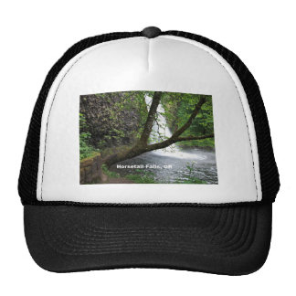 Horsetail Falls Oregon Columbia River Gorge Trucker Hats