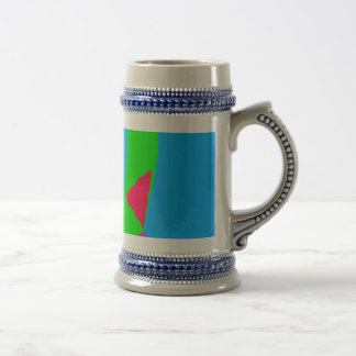 Horsetail Teatime Kite Clouds Hill Breeze 18 Oz Beer Stein