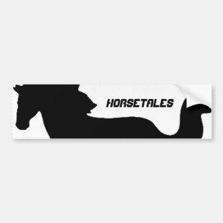 HorseTales Pegatina De Parachoque