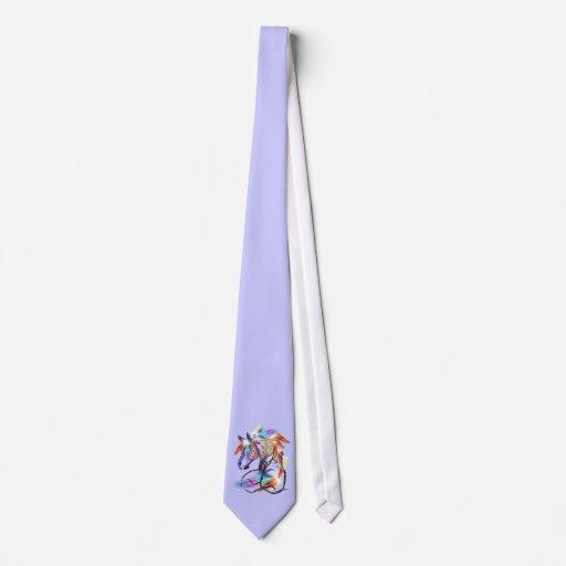 HorseTies brillante Corbata Personalizada