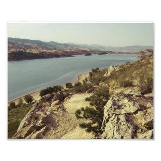 Horsetooth Reservoir Colorado Photo Art