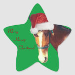 Horsey Christmas Sticker