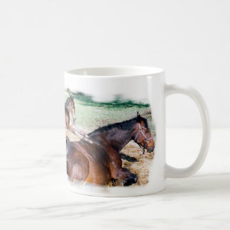 Horsey Humor, Saying Grace Coffee Mug