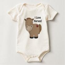Horsey Infant Shirt