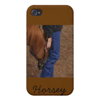 Horsey Love - case Case For iPhone 4
