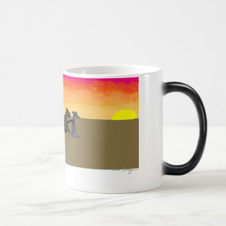 Horsey Loves Poodle Magic Mug