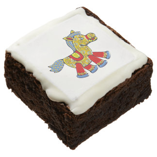 Horsey Square Brownie