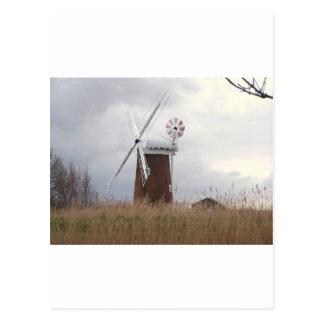 Horsey Windpump Norfolk Postcard