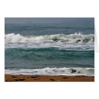 Horsfall Beach, Oregon Artwork Card