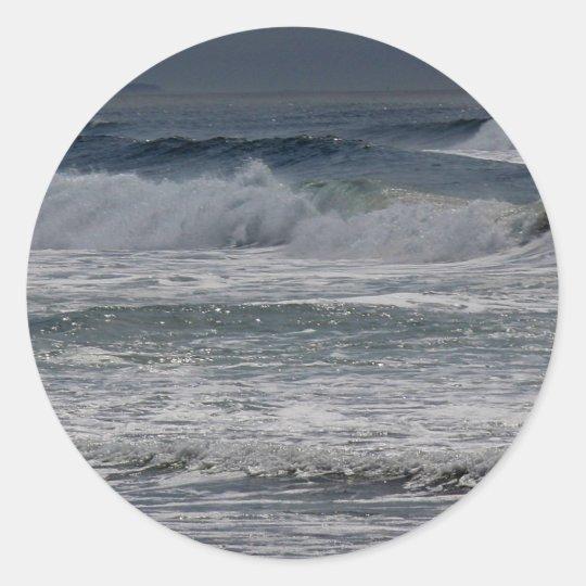 Horsfall Beach, Oregon Classic Round Sticker