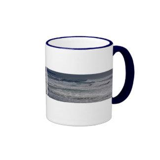 Horsfall Beach, Oregon Ringer Coffee Mug