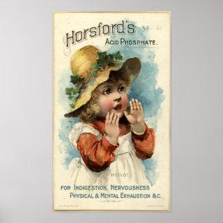 Horsford - 1898 poster