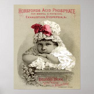 Horsford Acid Phosphate Poster