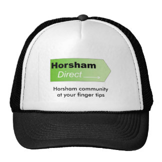 Horsham Direct logo, Horsham community at your ... Trucker Hat