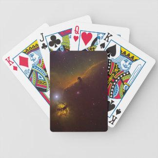 Horshead Nebula Bicycle Playing Cards