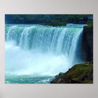 Horshoe Falls Landscape 11x14 Poster
