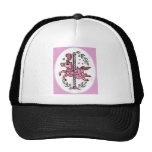Horsie rosado del tiovivo gorra