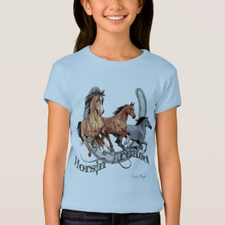 Horsin' Around Horse Lover's Gear T-Shirt