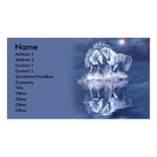 horsing-around-business-card Double-Sided standard business cards (Pack of 100)
