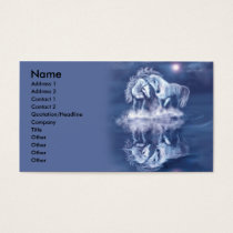 horsing-around-business-card business card