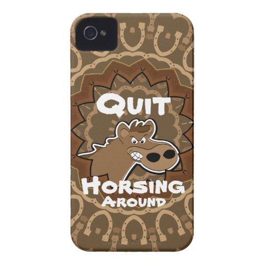 Horsing Around iPhone Case