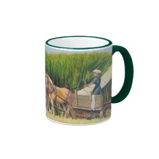 """Horsing Around"" Ringer Coffee Mug"