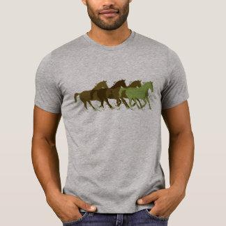 horsing around, wild horses t-shirt