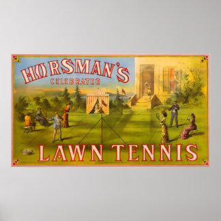 Horsman's Lawn Tennis Poster