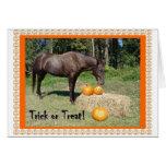Horsy Halloween Cards