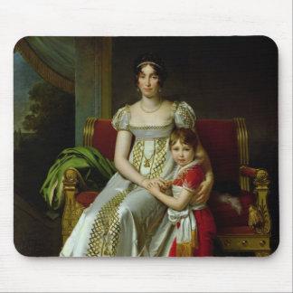 Hortense de Beauharnais and her Son Mouse Pad