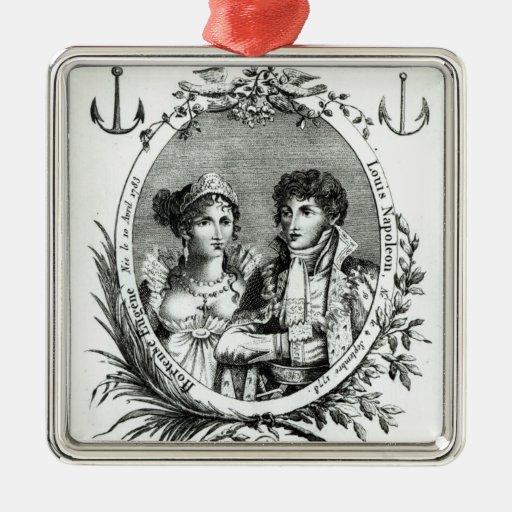 Hortense de Beauharnais Christmas Tree Ornaments