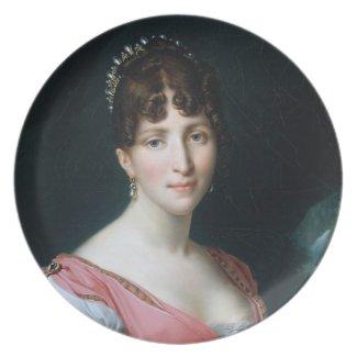 Hortense de Beauharnais plate