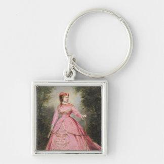 Hortense Schneider  1868 Key Chains
